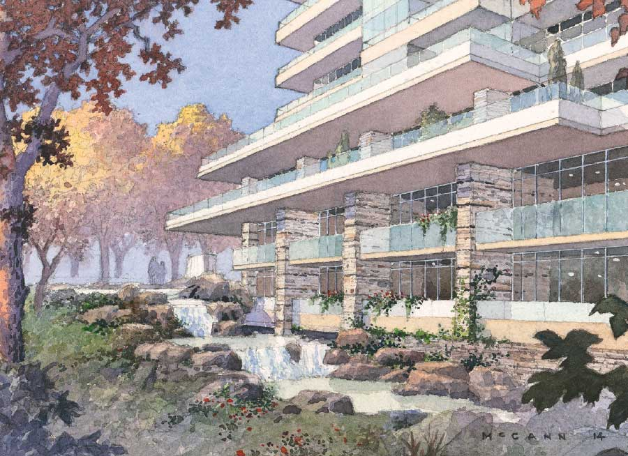 The Ravine Nature Rendering