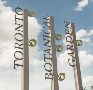 The Ravine Neighbourhood Signs
